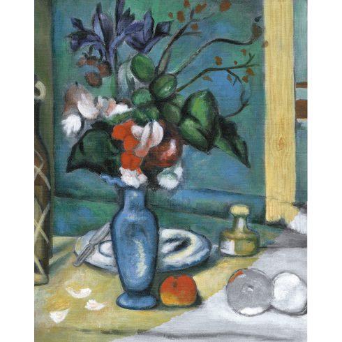 Kreatív hobby - Kék váza